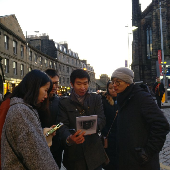 Mandarin Edinburgh Architecture Tour Dusk