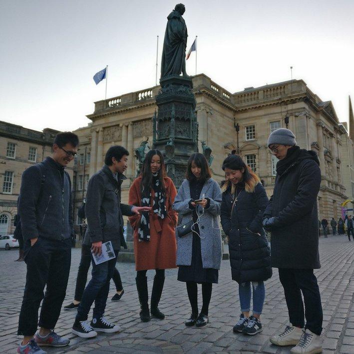 Mandarin Edinburgh Architecture Tour Cobbles