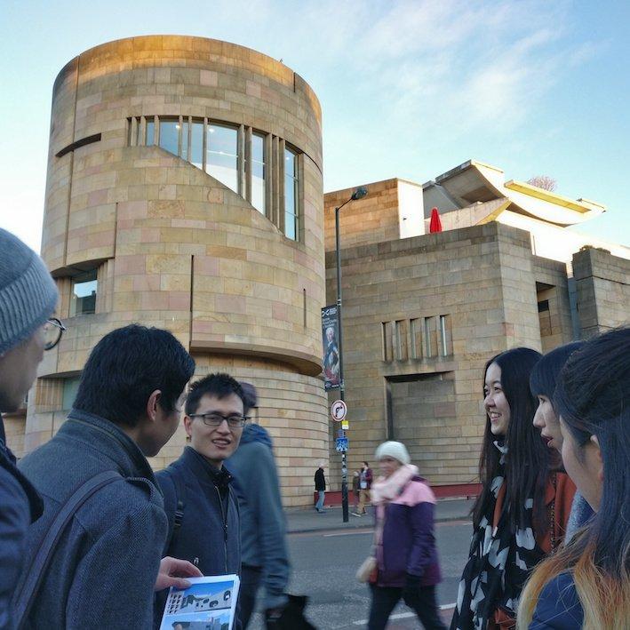 Mandarin Edinburgh Architecture Tour Museum