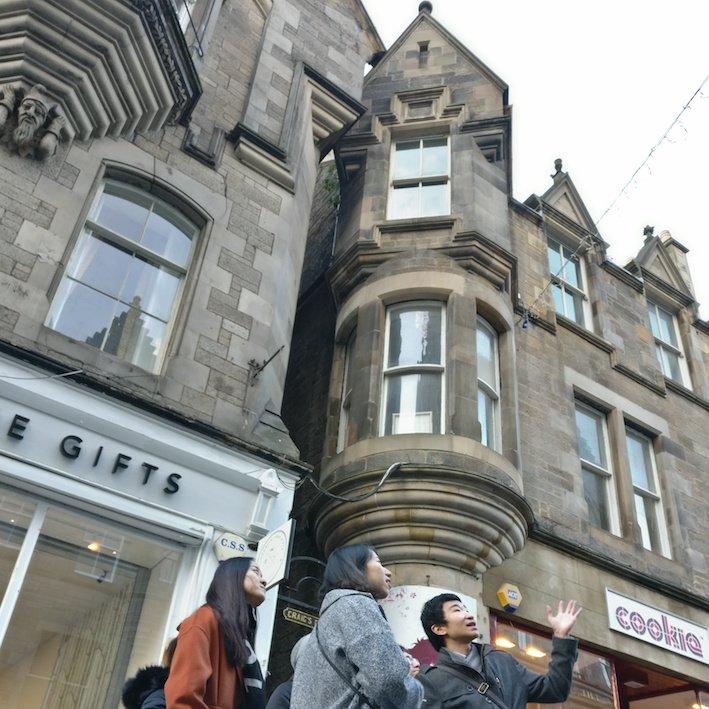 Mandarin Edinburgh Architecture Tour towers
