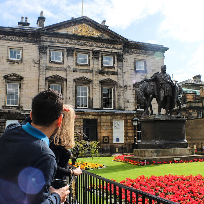 Dundas House| Royal Bank of Scotland | St Andrews square | New Town Walking tour