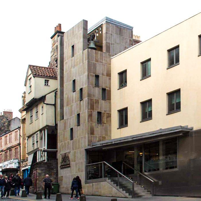 Contemporary Architecture tour Edinburgh INT