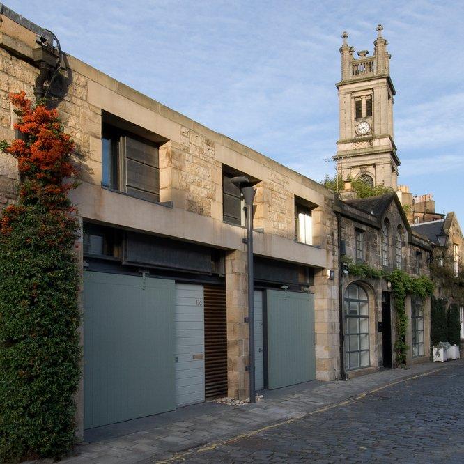 Contemporary Architecture tour Edinburgh RI