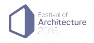 Festival of Architecture logo | Edinburgh tours