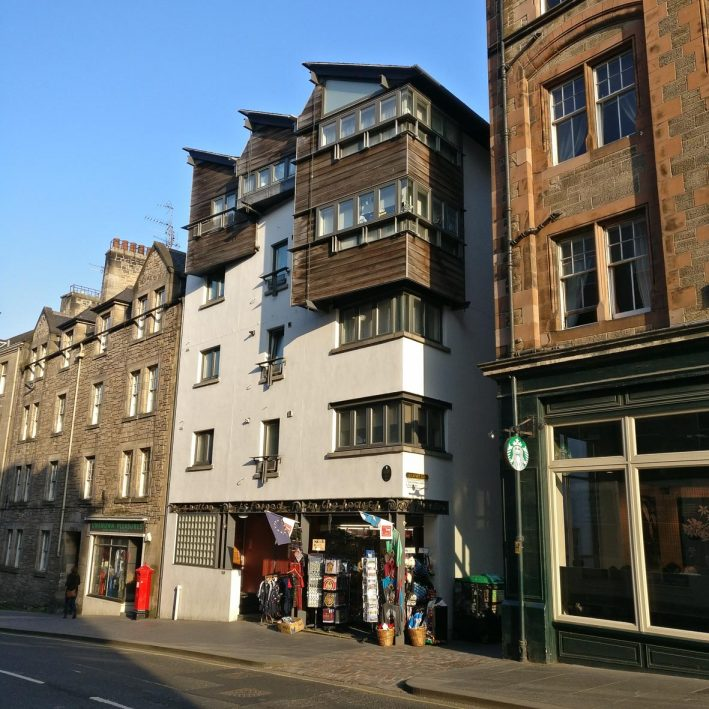 Canongate Social Housing | Richard Murphy | Jetties | Royal Mile Tour | Contemporary architecture