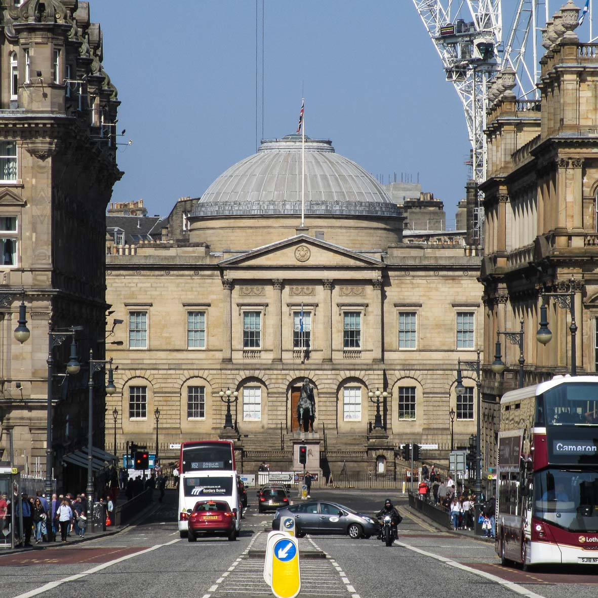 Register House Dome | Edinburgh New Town Architecture Tour | Robert Adam | North Bridge