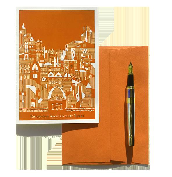 Edinburgh Gift Voucher | Edinburgh Gift Card | Postcard and Envelope