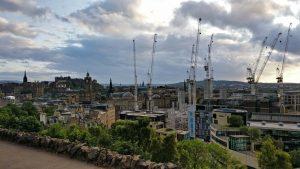 Edinburgh Skyline from Calton Hill | Edinburgh Walking Tours