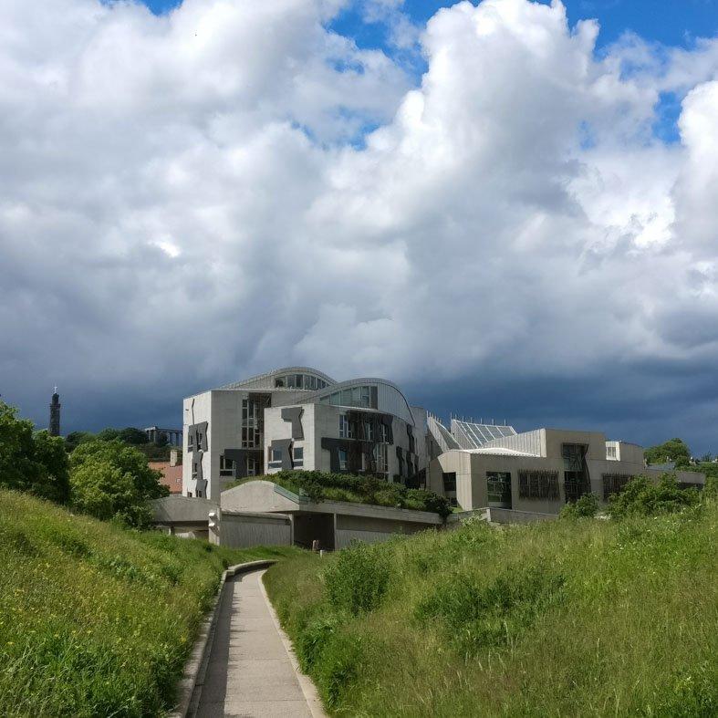 Scottish Parliament by Enric Miralles | Edinburgh Architecture Walking Tour
