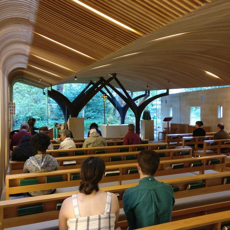 St Albert's Chapel Interior | Edinburgh Architecture Walking Tour