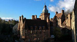 Well Court social housing buildings in Edinburgh Dean Village