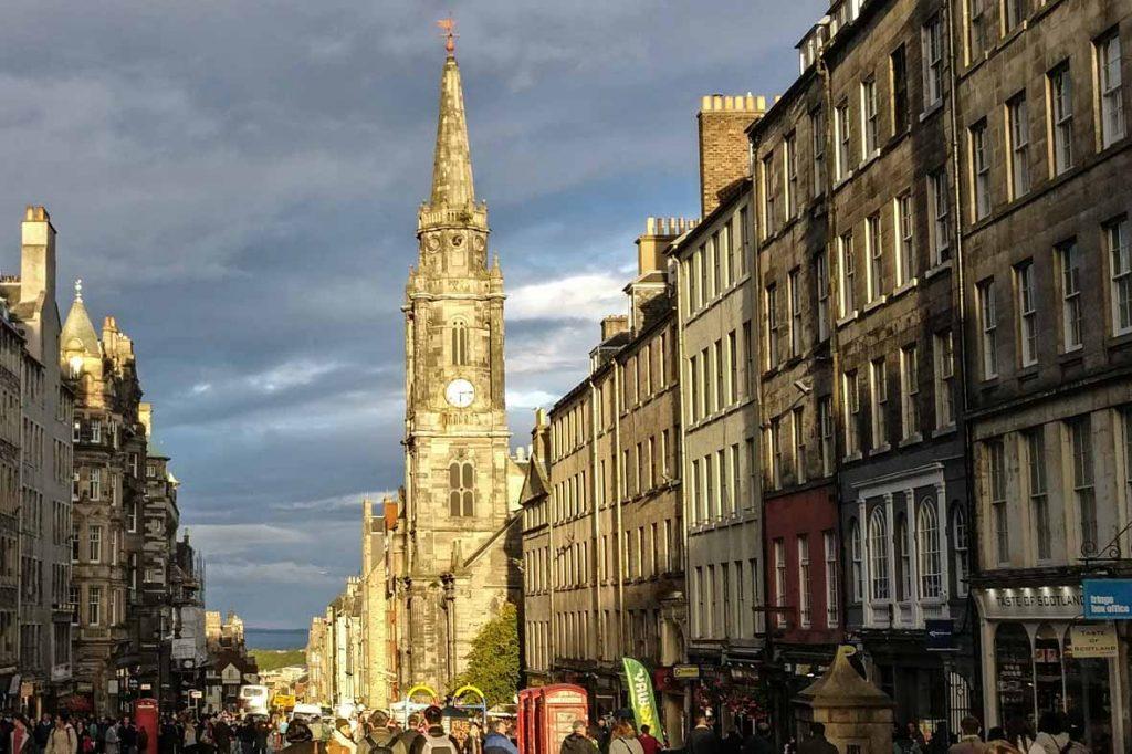 Edinburgh Buildings: Tron Kirk on Royal Mile