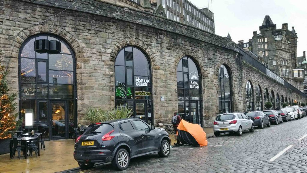 New Waverley Arches _Staran architects_Architectural Projects in Edinburgh_Walking Tour