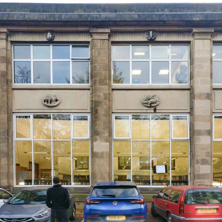 University of Edinburgh Ashworth Building Facade_ Art Deco Architecture in Edinburgh