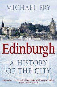 Book cover_Edinburgh A History of The City_Edinburgh History tour in 8 books