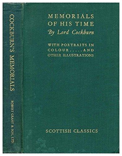 Book cover_Memorials of His Time_Edinburgh History tour in 8 books