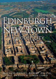 Book cover_Edinburgh New Town: A Model City_Edinburgh History tour in 8 books