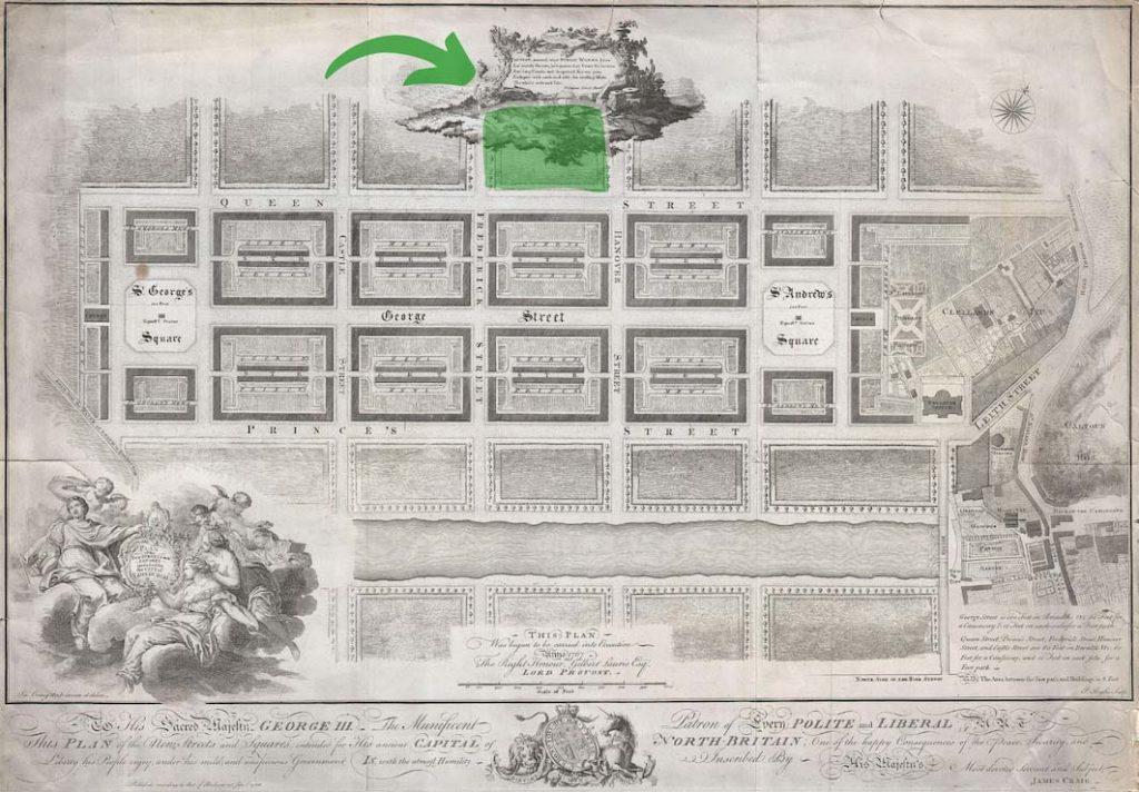 Edinburgh New Town plan_James Craig