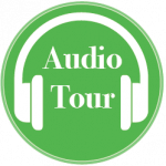 Green Edinburgh audio tours badge