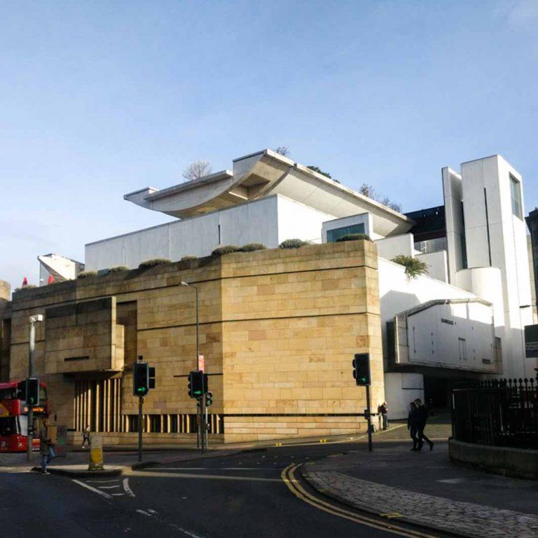 National Museum of Scotland seen on Edinburgh Old Town audio tour