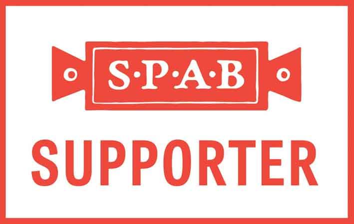 SPAB supporter badge for edinburgh Walking Tours